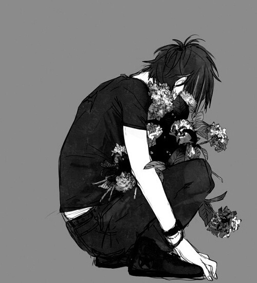 صورة صور شخص حزين , رسومات شخص حزين