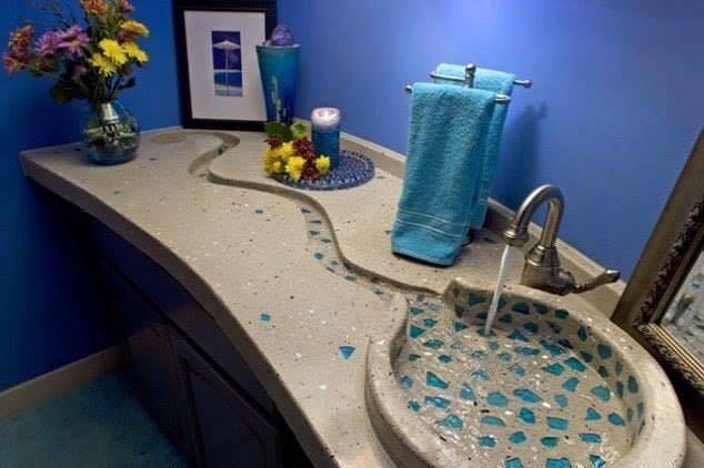 صورة ديكورات مغاسل يدين , احدث التصاميم لمغاسل اليدين