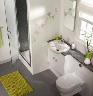 صورة حمامات صغيرة , اجمل التصميمات للحمامات