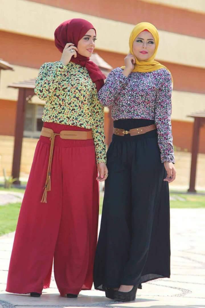 صورة اشيك ملابس محجبات , كولكشن تحفه لملابس المحجبات