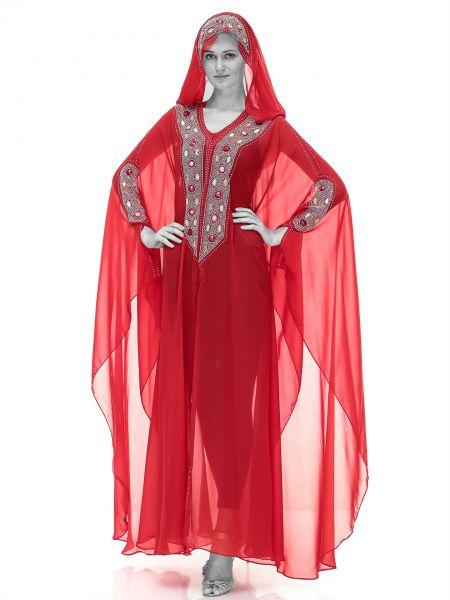 صورة عباية الفراشة , اكثر الملابس راحة للمراة
