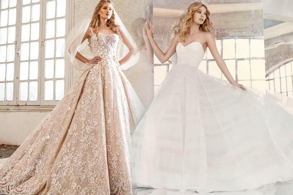 صور فساتين اعراس فخمه , اجمل فساتين الزفاف ذات الطابع القيم
