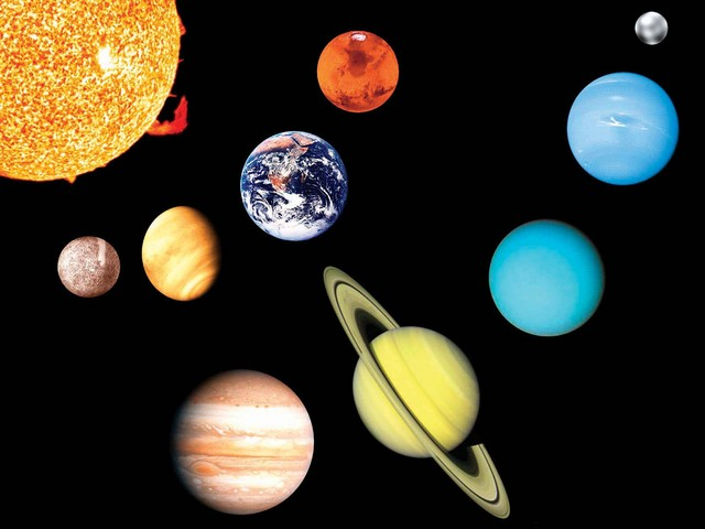 صورة صور المجموعة الشمسية , اجمل صورة للشمس ومجراتها وكواكبها