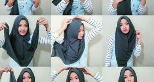 صور صور لفات حجاب , بعض الرمزيات لاشكال حجابات مختلفة