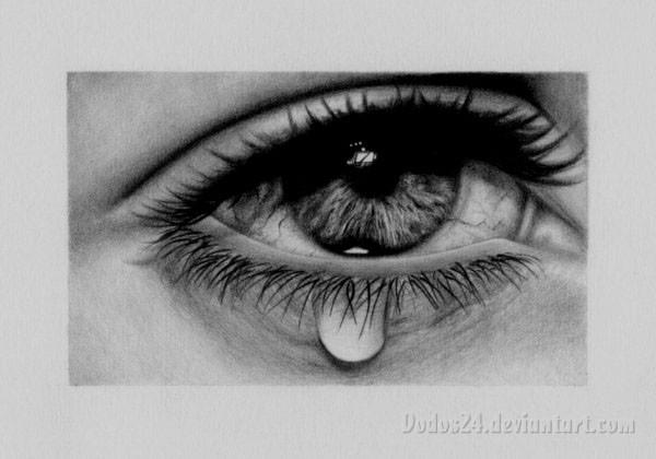 صورة صور عيون حزينه , ممتزجة بالدموع والالم
