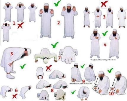صورة طريقة الصلاة الصحيحة بالصور , خطوات صحيحة للصلاة