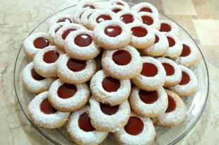 صورة حلويات مغربية سهلة التحضير , خطوات تحضير حلوى مغربية