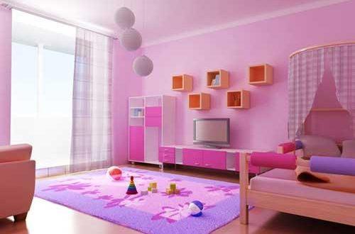 صورة الوان غرف نوم اطفال , اجمل الوان غرف النوم