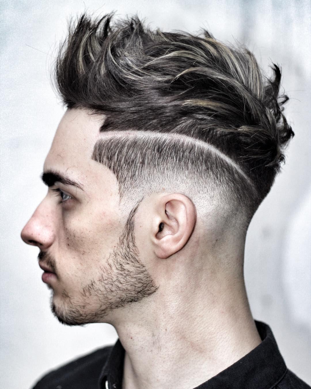 صور انواع قصات الشعر , اجمل قصات الشعر لهذا العام للرجال