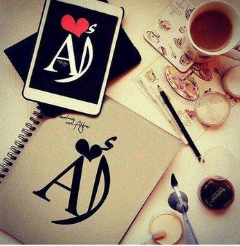 اجمل صور حرف A مع حرف A