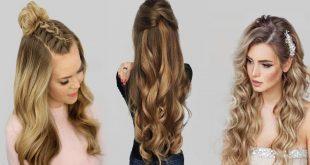 تسريحات شعر طويل 2020 , اشيك و اسهل تسريحات الشعر