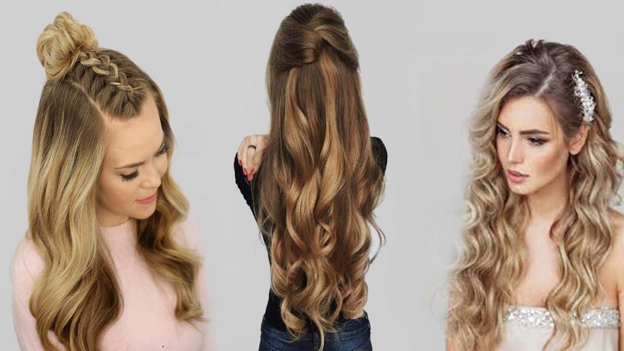 صور تسريحات شعر طويل 2019 , اشيك و اسهل تسريحات الشعر