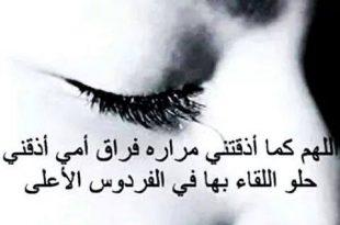 صورة صور عن فراق الام , كلمات حزينه ملامه عن فراق اغلى الناس الام