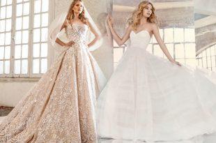 صورة فساتين زفاف فخمه , افخم واروع فساتين الزفاف في العالم