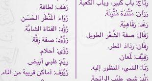 صورة معاني اسماء البنات , الكثير من المعاني المميزة لاسماء البنات