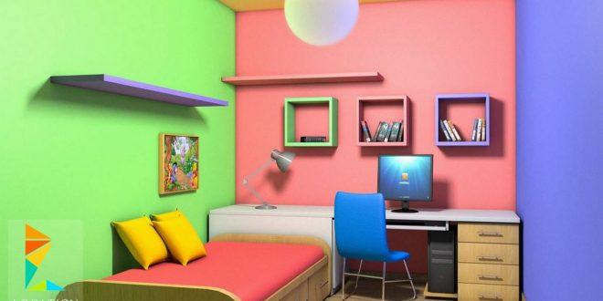 صورة دهانات غرف اطفال , احدث الدهانات والاشكال لغرف الاطفال