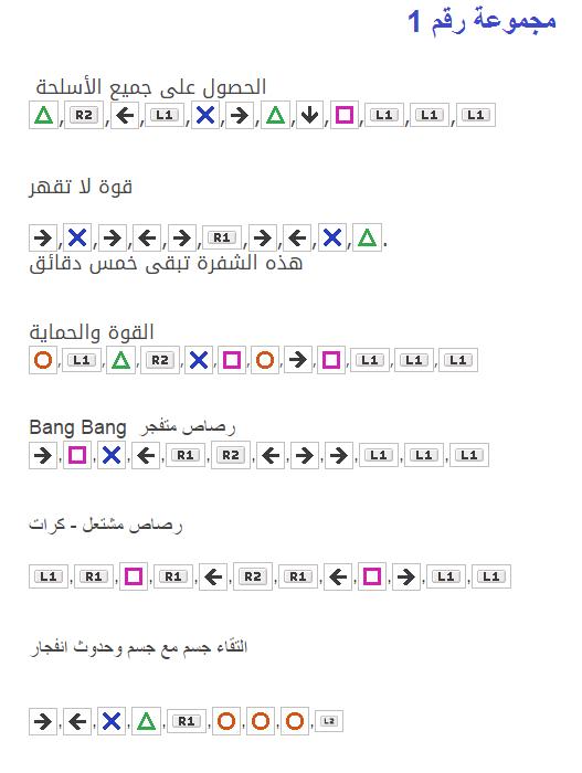صورة رموز قراند 5 , اهم رموز لعبة المغامرات