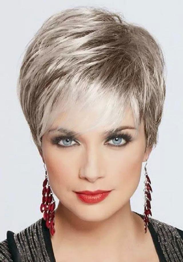 صورة احدث قصات الشعر القصير , ما اجمل الشعر القصير 209 4