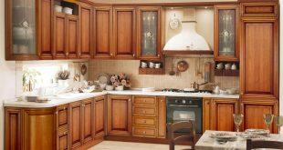 صورة مطابخ خشب , افضل انواع المطابخ