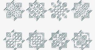 صورة رموز زخرفة , رسومات رقيقة للزخرفة