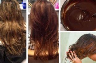 صور كيفية صبغ الشعر , تعرف على طريقة صبغ الشعر