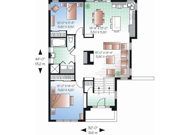صورة تصاميم بيوت , احدث واجمل تصاميم بيوت عصريه 3617 6