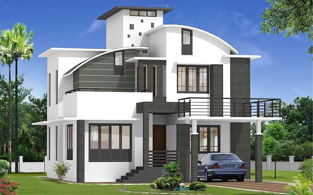 صورة تصاميم بيوت , احدث واجمل تصاميم بيوت عصريه 3617 8