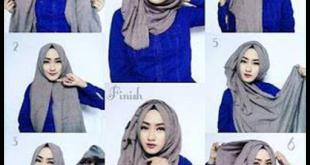 صور حجابات 2019 , لفات طرح اخر موضة