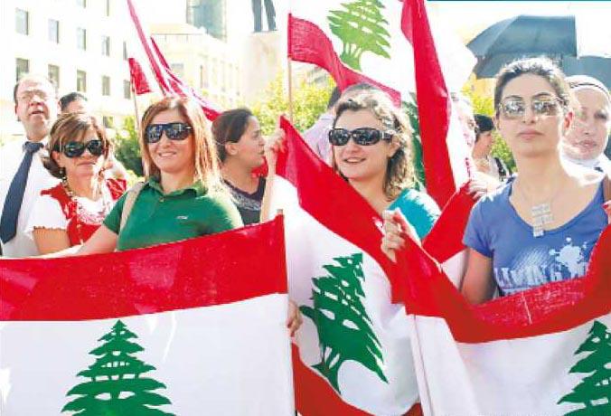 صورة بنات لبنانية , المراة اللبنانية وتغير وضعها الاجتماعي والسياسي