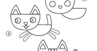 صورة رسومات سهلة وجميلة , تدرب اولا على رسومات سهلة