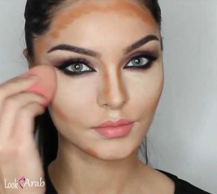 صور تنحيف الوجه , كيفية تنحيف الوجه بالميكب