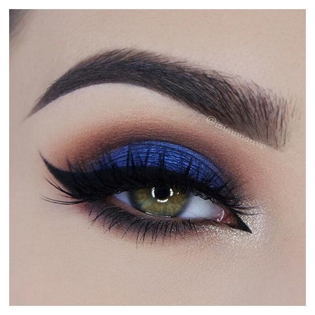 صورة اجمل مكياج عيون , مكياج عين جميل