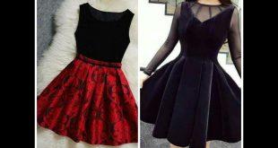صور فساتين قصيرة تركية , اجمل فستان تركى جذاب