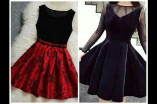 صورة فساتين قصيرة تركية , اجمل فستان تركى جذاب