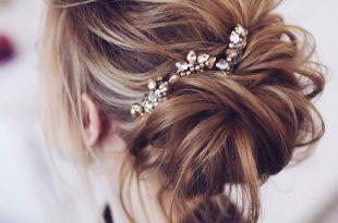صورة تسريحات بسيطة للشعر , اجمل تسريحات الشعر