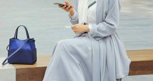 صورة لبس محجبات , اطلالة مميزة للمحجبات لصيف 2020