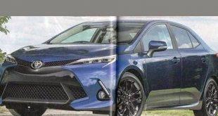 صور سيارات تويوتا , تويوتا كورولا 2019 الجيل الجديد الثاني عشر