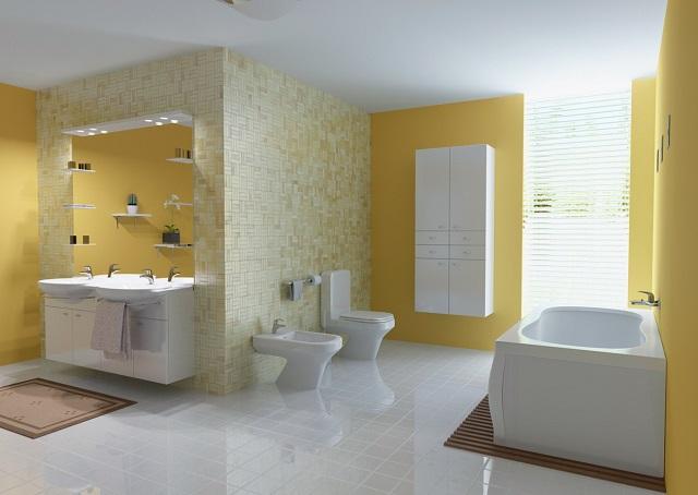 صور ديكور حمامات , احدث موديلات الحمامات 2019