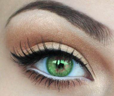 صورة صور عيون خضر , تامل جاذبية العيون الخضراء