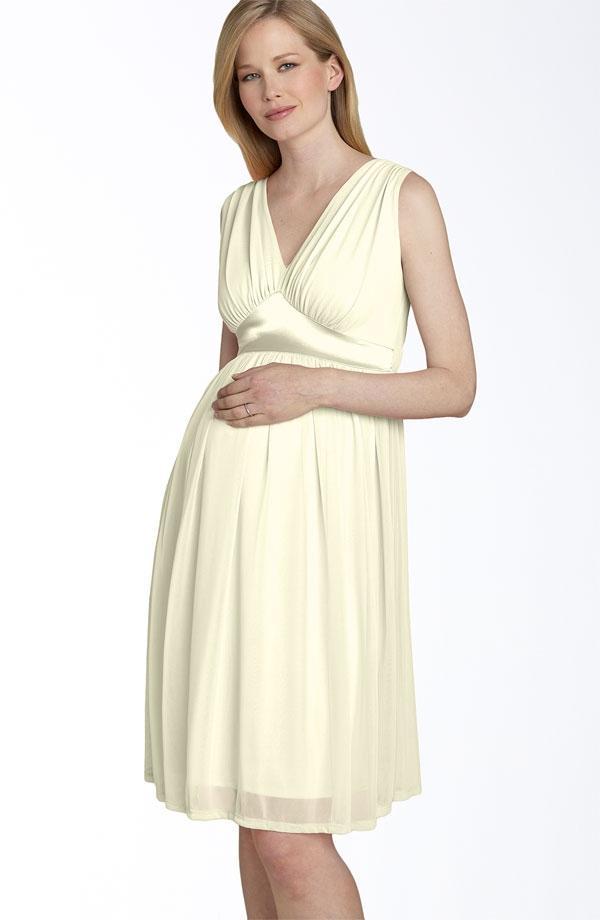 صورة صور فساتين للحوامل , اشيك واجمل اطلالة للحامل لفستانها المميز 5749