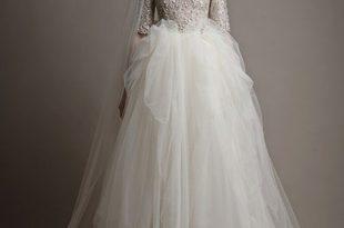 صور فساتين اعراس للمحجبات , الذوق الرفيع لفساتين المحجات فى الاعراس