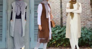 صور موضة شتاء 2019 للمحجبات , الشتاء وافضل الملابس لهذا العام