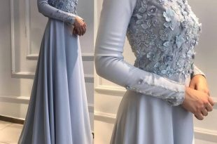 صور فساتين سواريه بسيطه وشيك للمحجبات , الحجاب وافضل تشكيله لفساتين السهره