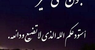 صورة مسجات تصبحون على خير اسلامية، من أجمل المسجات روعة