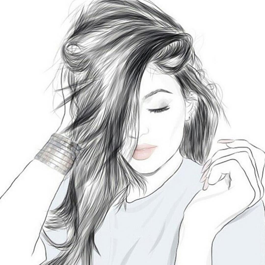 صورة صور بنات رسومات , لكل من تعرف ترسم اوعي يفوتك