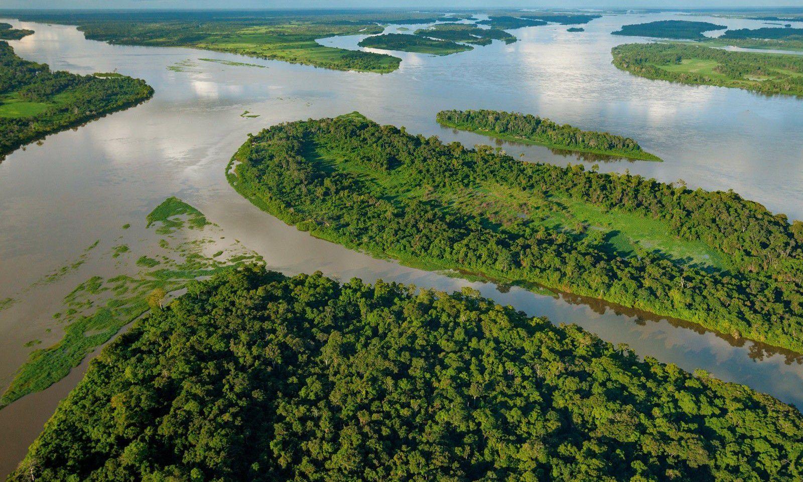 صورة اكبر نهر في العالم، من الأنهار المعروفة بكبرها