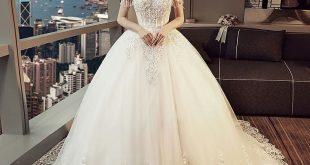 صورة الكل بيسألني جبت فستان فرحي منين ,صور فساتين زفاف جميلة