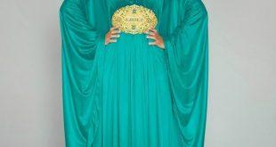 صورة مفيش اجمل من العبايات المغربيه , قنادر قطيفة من الفيس بوك