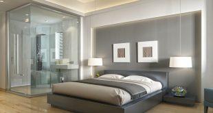 صورة اهم عنصر فى البيت تقدرى تصمميه فى غرفة النوم , حمامات داخل غرفة النوم